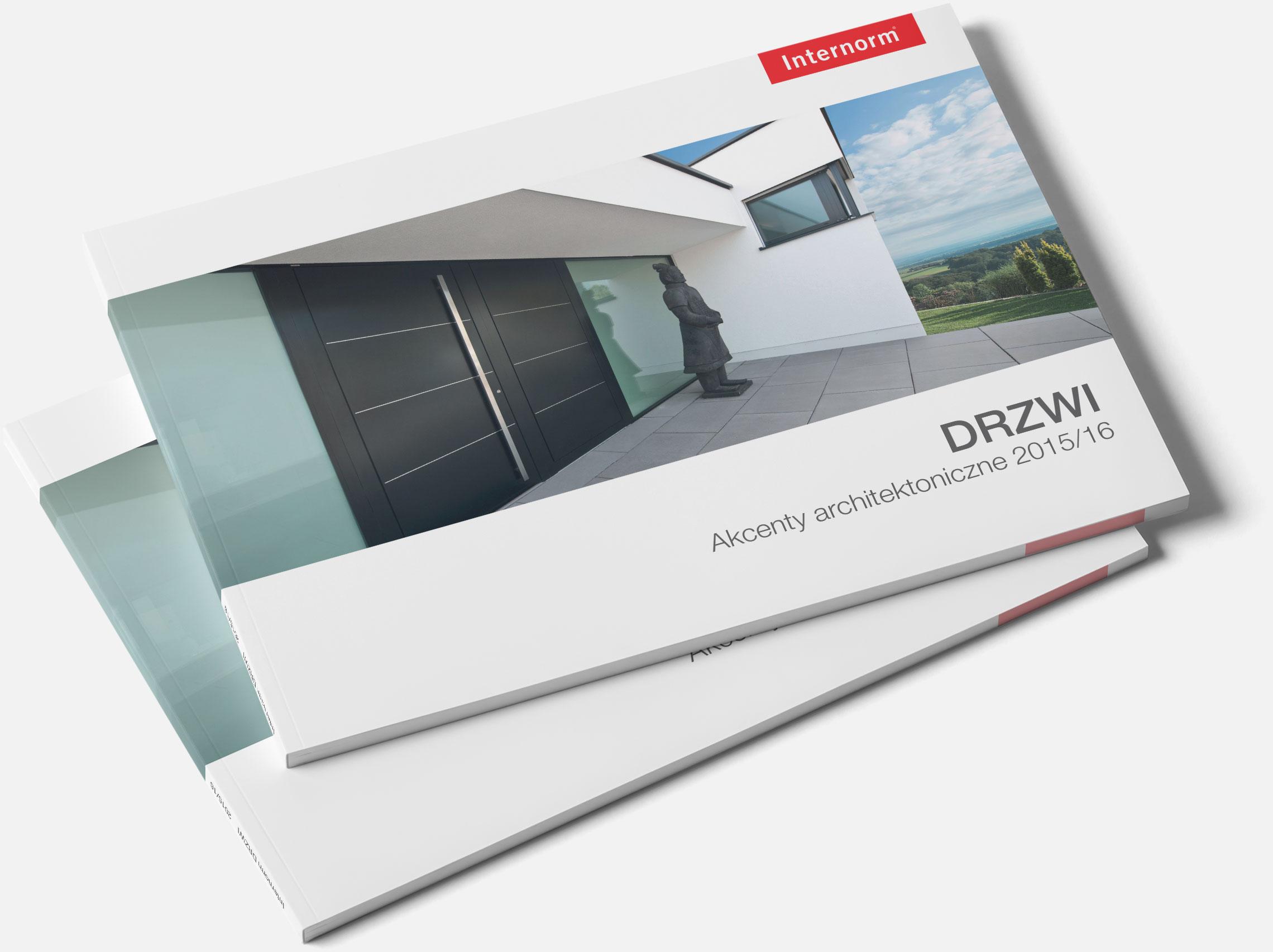 Katalog produktowy Internorm - przednia okładka