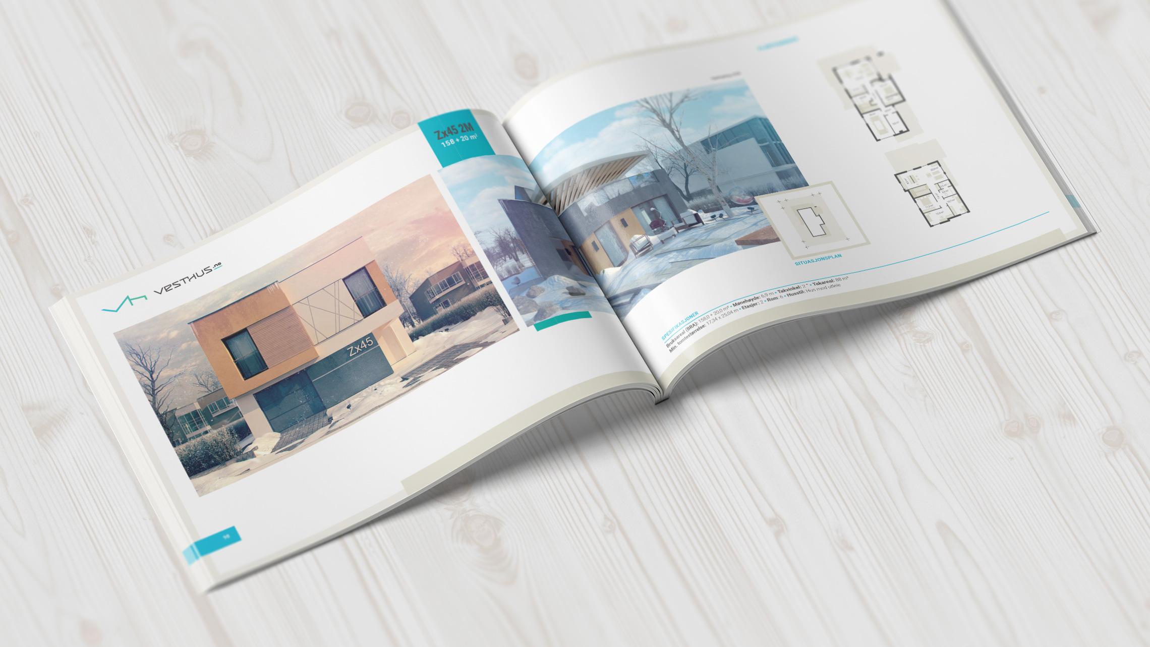 Przykładowy katalog reklamowy zrealizowany przezAlpaca Studio