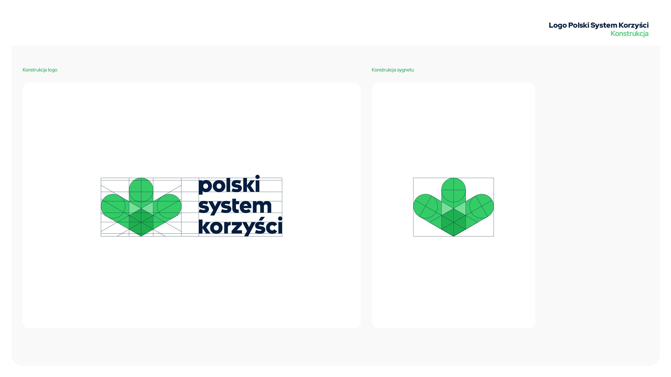 Księga znaku PSD - konstrukcja logo