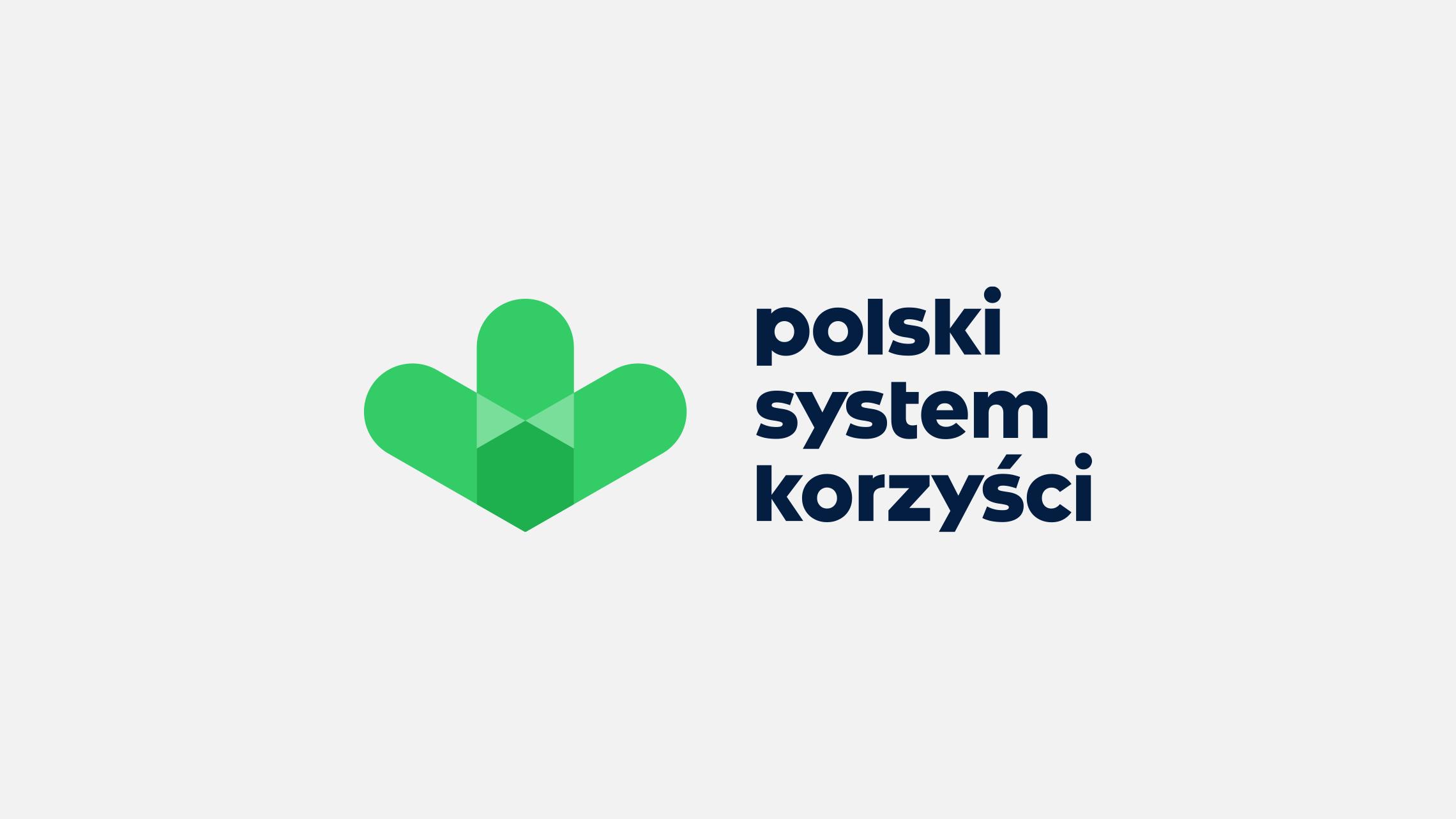 Projekt graficzny logo PSK wwersji podstawowej