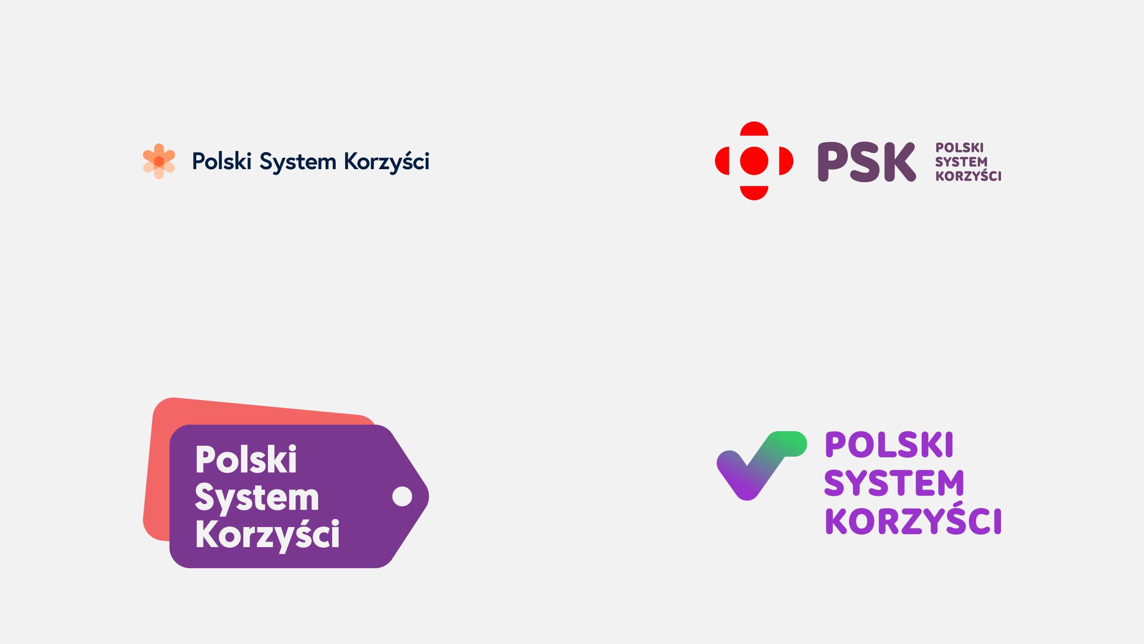 Pozostałe koncepcje logo PSK