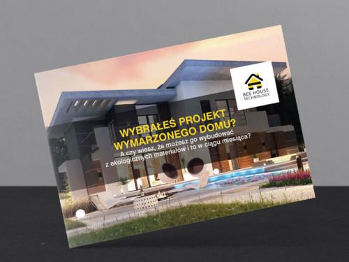 Kompleksowa realizacja kampanii reklamowej BTL dla firmy budowlanej Bee House Technology