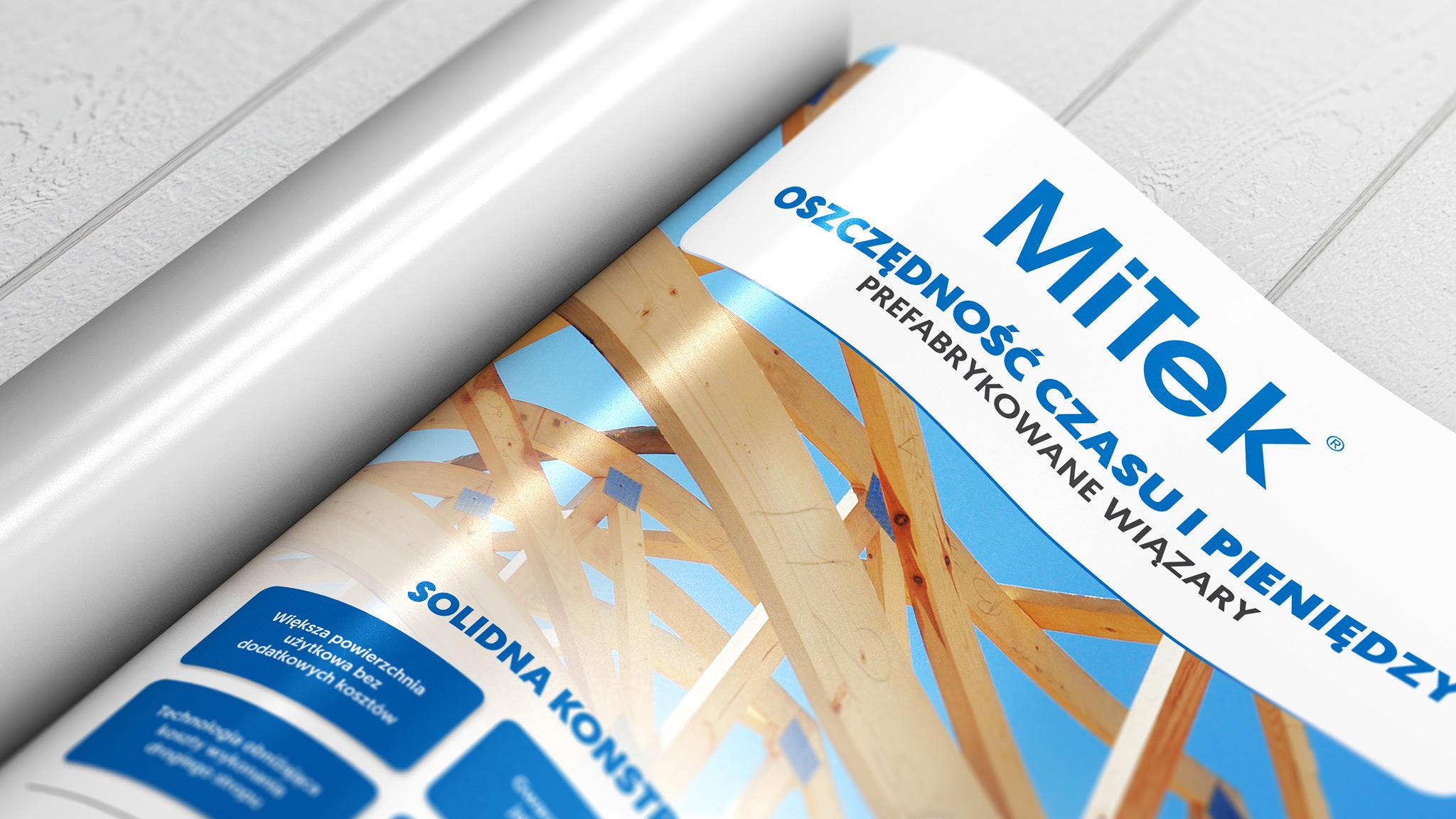 Realizacja kampanii reklamowej TTL (ATL + BTL) dla firmy Mitek Industries